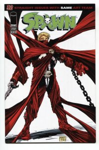 SPAWN #232 2013 Low print run great cover NM-