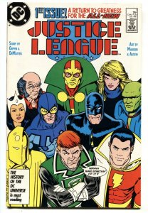Justice League America #1 - 1st app. of Maxwell Lord (Black King) DC NM-