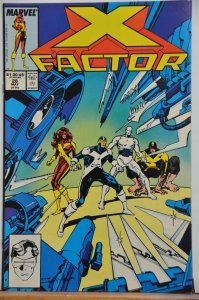 X-Factor #28 (1988) VFR-NM Great Cover !!