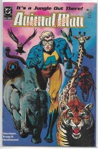 Animal Man (vol. 1, 1988) # 1 GD/VG Morrison/Truog, Bolland cover