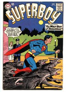 SUPERBOY #116 comic book 1964-DC COMICS-WOLF BOY OF SMALLVILLE VG