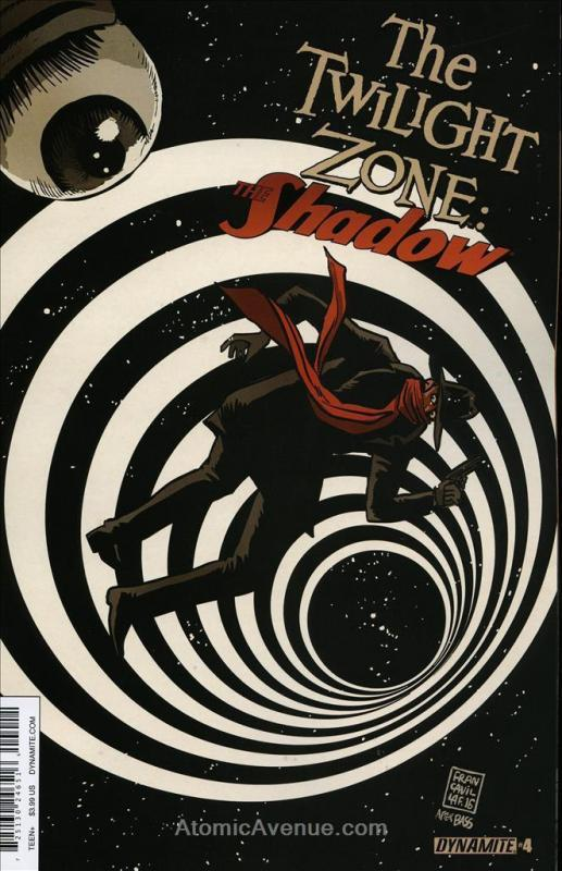 Twilight Zone, The: The Shadow #4A VF/NM; Dynamite | save on shipping - details