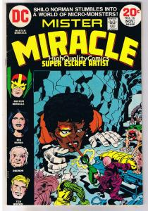 MISTER MIRACLE #16, FN, Jack Kirby, 4th World, 1971, more JK in store