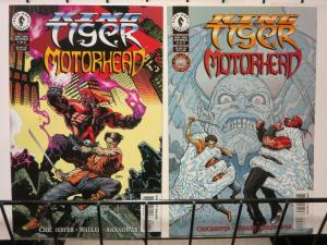 KING TIGER MOTORHEAD 1-2 complete BARB WIRE spinoff!