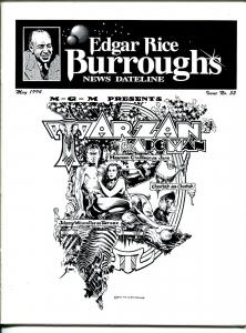 Edgar Rice Burroughs News Dateline #52 1994-Tarzan-comics-books-pulps-VF