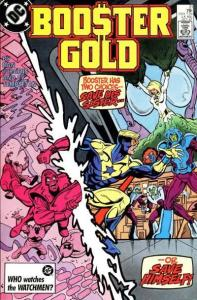 Booster Gold (1986 series) #21, VF+ (Stock photo)