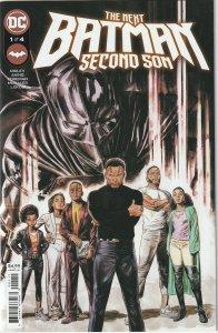 NEXT BATMAN SECOND SON # 1 (2021) MAIN COVER - ORIGIN OF TIM FOX