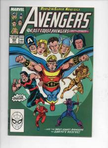 AVENGERS #302, VF/NM, Fantastic Four, Quasar, 1963 1989, more Marvel in store