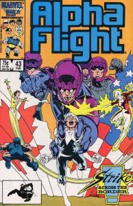 Alpha Flight (1st Series) #43 VF/NM; Marvel | save on shipping - details inside