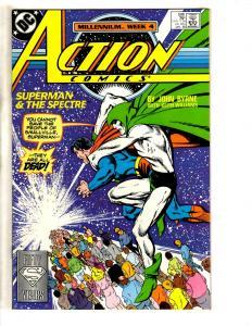 8 Action Comics Feat. Superman DC Comics # 596 597 598 599 600 601 602 603 CR12