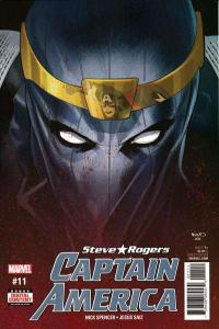 Captain America: Steve Rogers #11, VF+ (Stock photo)