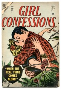 Girl Confessions #31 1954- Atlas Romance comic VG/F
