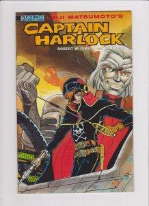 Eternity Comics! Captain Harlock! Issue 9!