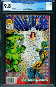 Incredible Hulk #400 CGC 9.8 NEWSSTAND VARIANT COVER 2038149006