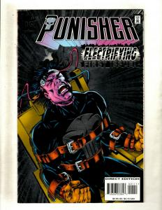 Lot of 10 Punisher Marvel Comic Books  #1 1 2 3 5 7 9 14 15 16 HY7