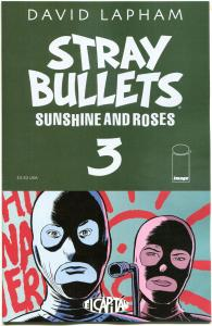 STRAY BULLETS : Sunshine & Roses #3, NM, David Lapham, 1st, 2015, more in st