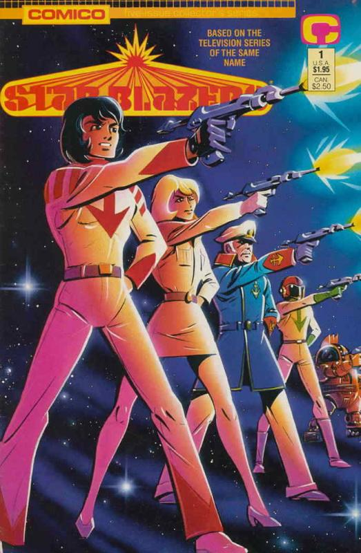 Star Blazers (Vol. 2) #1 VF/NM; COMICO | save on shipping - details inside