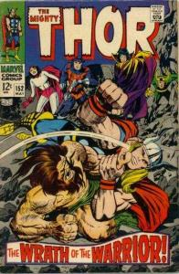 Thor (1966 series) #152, Fine- (Stock photo)