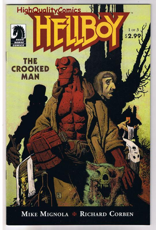 HELLBOY - CROOKED MAN #1, NM, Richard Corben, Mike Mignola, more in store