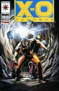 X-O Manowar #27 VF/NM; Valiant | save on shipping - details inside