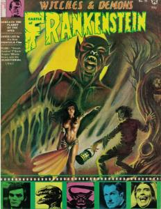 CASTLE OF FRANKENSTEIN 15 VG-F CHRIS LEE,Karloff copy A