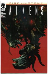 ALIENS Fire & Stone #1, NM-, 2014, Variant, more in store, more Horror in store