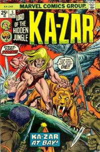 Ka-Zar (1974 series) #5, VF- (Stock photo)