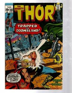 Mighty Thor # 183 VF Marvel Comic Book Loki Odin Asgard Sif Avengers Hulk RB8