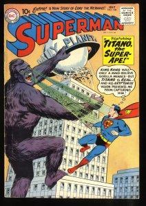 Superman #138 VG 4.0