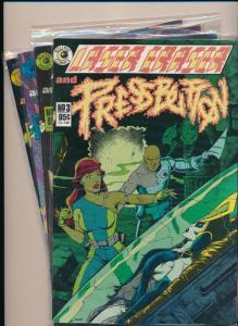 Eclipse Comics Laser Eraser & Press Button SET-#3-#6 FINE/VERY FINE (HX672)