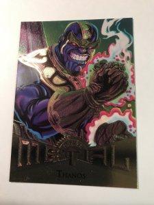 THANOS #19 card : Marvel Metal 1995 Fleer Chromium; NM/M, X-Men Avengers, base