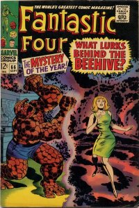 Fantastic Four #66 (ungraded) stock photo / SCM