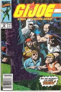 G.I. Joe: A Real American Hero (1982 series) #98, VF+ (Stock photo)