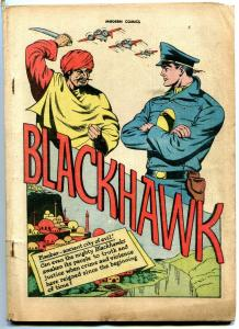 Modern #51 1946- Blackhawk- Reed Crandall- Golden Age reading copy