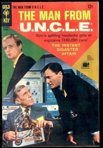 MAN FROM U.N.C.L.E. #16-PHOTO COVER FN/VF
