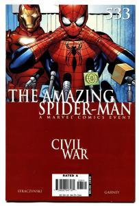 AMAZING SPIDER-MAN #533 comic book Civil War avengers movie MCU