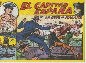 El Capitan España facsimil numero 10: La ruta de Malaita