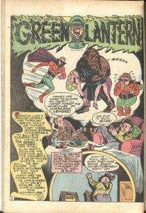 Comic Cavalcade #1 1942- Wonder Woman- Flash- Green Lantern-WILDCAT-HITLER-FIRST