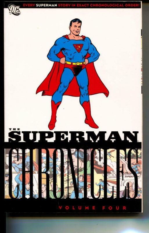 Superman Chronicles Volume 4 TPB trade