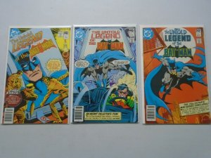 The Untold Legend of the Batman Set: #1-3 4.0 VG (1980)