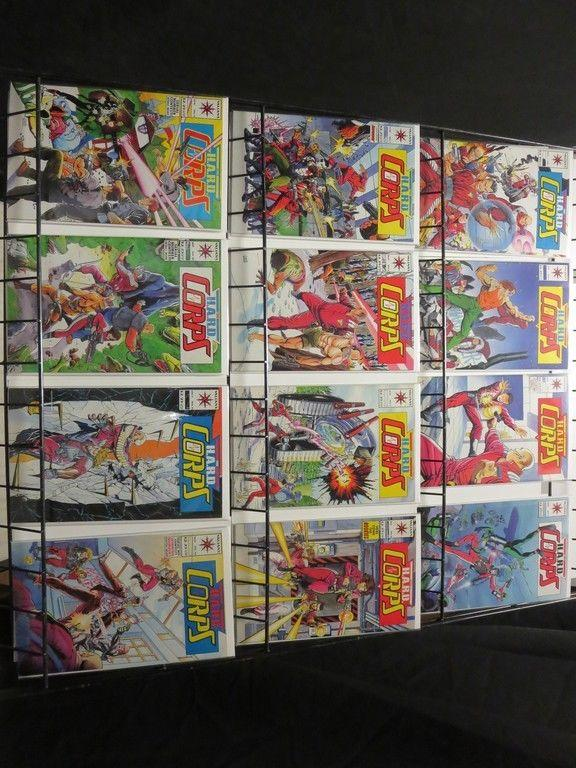 HARD CORPS (1992 VL) 1-30  Jim Lee covers
