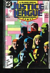Justice League International #7 (1987)