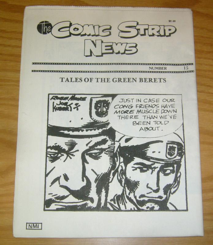 Comic Strip News #15 VF/NM; Quality Comic Art Productions | save on shipping - d