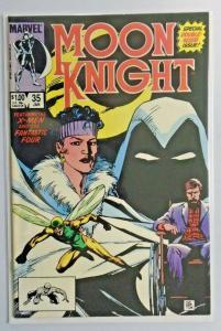 Moon Knight #35 - Direct - X-Men - 8.5/VF (1984)