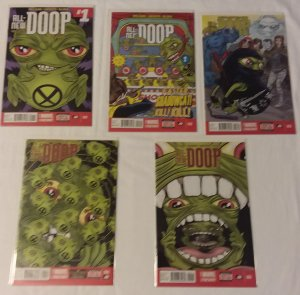 All-New Doop   #1-5 (complete set) Milligan, Allred cover