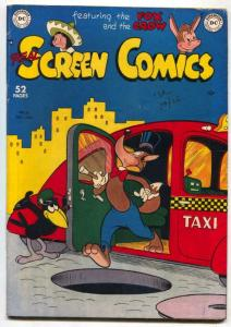 Real Screen Comics #27 1949- Fox & Crow FN-