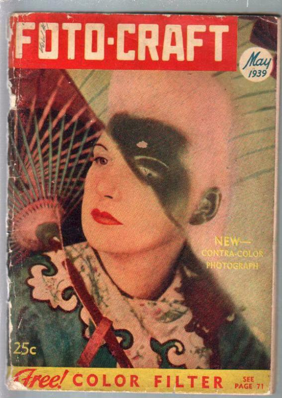 Foto-Craft #1 5/1939-1st issue-photography info-digest format-rare-VG/FN