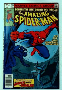 Amazing Spider-Man #200 Marvel 1980 VF- Key Origin Spider-Man Retold Comic Book