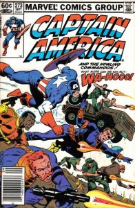 Captain America #273 stock photo ID#B-1