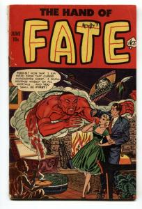 HAND OF FATE #17 Pre-code horror- GENIE COVER-Violence